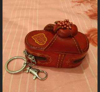 🚚 小領錢包(內付鏡子)+送皮夾