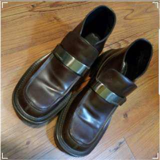 MOOK DESIGH 皮鞋 MADE IN ITALY 39.5