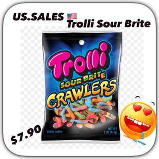 Trolli Sour Brite Gummies from 🇺🇸