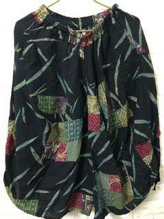 南洋風燈籠褲