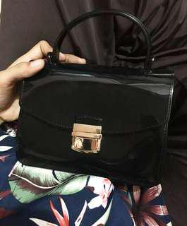 Jelly bag black #mauIphoneX