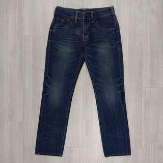 🚚 Levi's Levis W30 L34 15482-0005 深色刷色直筒牛仔褲 511 512 510