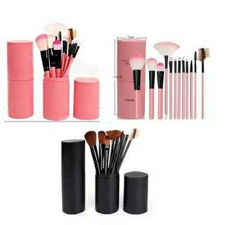 Makeup brush 12 set in tube