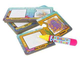 Magic Colour Puzzle Drawing Cards