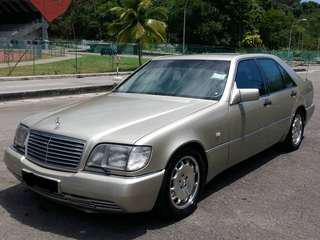 Mercedes S320 bullet proof