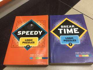 Logic Puzzles Book including Sudoku, Kakuro, Godoku [Published in UK]