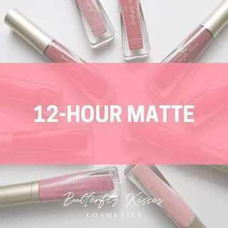 12h Matte Liquid Liptint