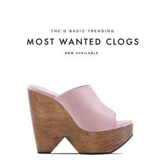 Thegeroboc - TGclogs in Soft Pink