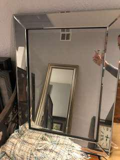 PRICE DROP Amazing heavy duty silver mirror