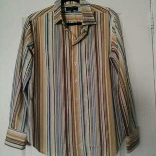 Mens stripef shirt