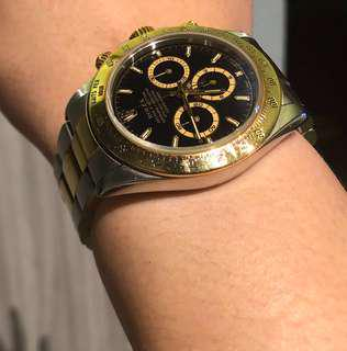 Rolex Half Gold Daytona Zenith Movement