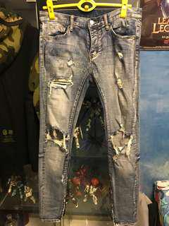 Mnml M1 Denim Ripped Jeans (Size 30)