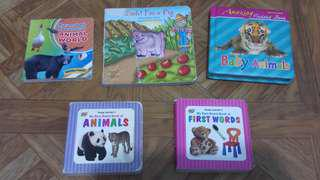 Take All 5 Books for Toddlers/Babies for only 100