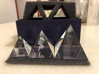 🚚 水晶金字塔(大、中、小)原價6999