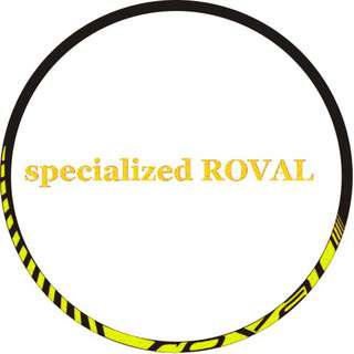 Rim Stickers specialized ROVAL (neon green)