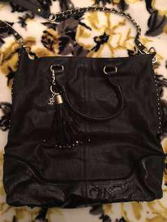Saba Leather Oversized Tote