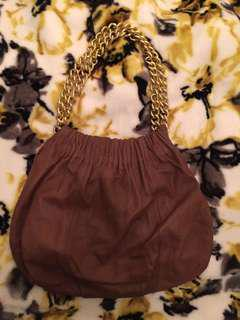 Witchery Small Leather Chain Bag