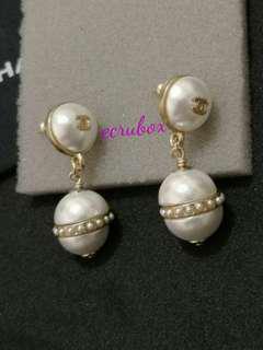 Chanel matte gold Earrings