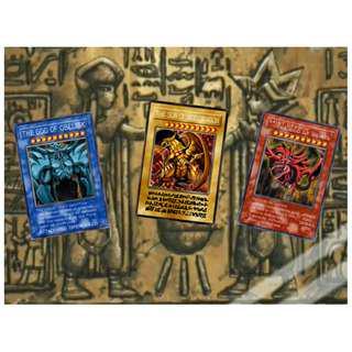 Yu Gi Oh Duel Monsters Egyptian God Cards (Anime Replica)