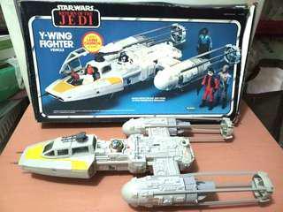 Vintage Y Wing Fighter ROTJ Star Wars
