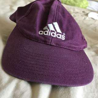 Adidas purple cap