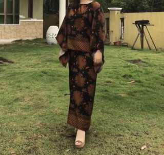 Baju Kurung Pareo Set