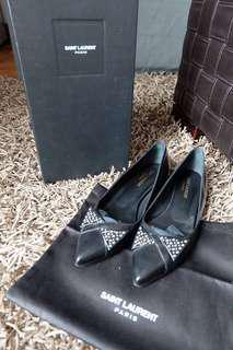 YSL pointed shoes