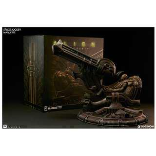 Sideshow Collectibles Alien Space Jockey Maquette Brand New Sold Out