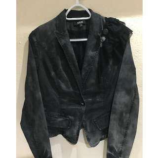Blazer type denim jacket
