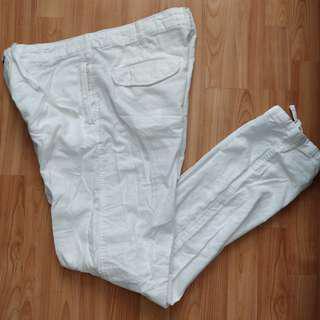 H&M men white pants size: 32
