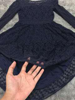 H&M Dress Navy