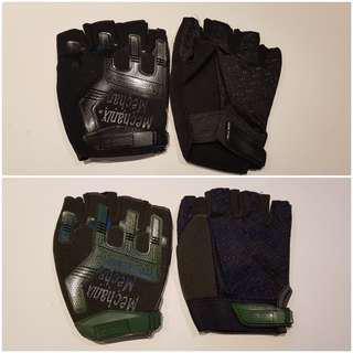 Half Finger Gloves (L) Sold in Bundle only