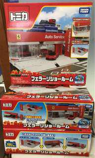 Tomica Ferarri Auto Service Set