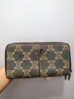 Celine bifold wallet