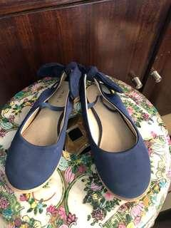 ZARA BOW FLAT SHOES