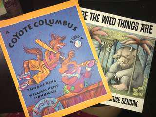 Children's picture books (can be used for ENG234)