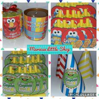 Customised Sesame Street Goodie Bags