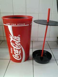 Vintage Jumbo Coca Cola Straw Dispenser