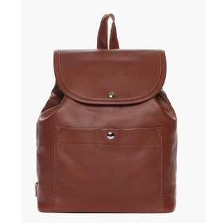 Parisian Ladies Zirus Backpack (Light Brown)