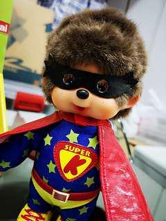 Monchichi Kiki 法國绝版超人