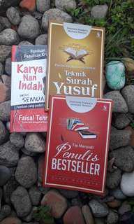 Set 3 buku untuk penulis