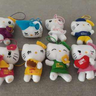 Hello Kitty mini plushies