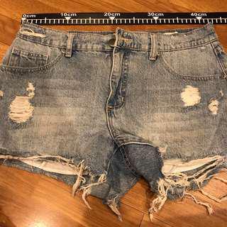 cotton on size XL hotpants original