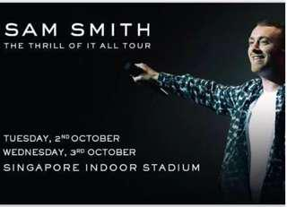 Sam Smith : The Thrill of it All World Tour 2018