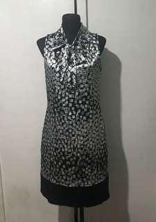 Yessica silk shift dress