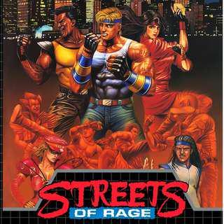 Street of rage cap