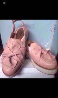 Pantopel pink brand Hellena shoes