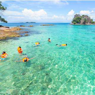 Tropical Private Island Holiday Diving Snorkeling