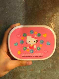 Sanrio hello kitty 絕版儲物盒