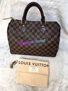 Louis Vuitton Speedy Damier 30